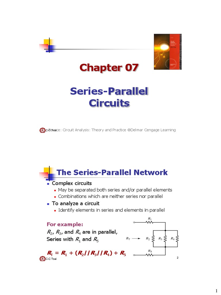 What Are Series And Parallel Circuits Be Ch07 Electrical Network