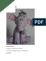 Tutorial Elefante de Peluche