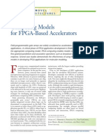 Computing Models for FPGA-Based Accelerators