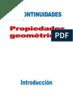 Discontinuidades Propiedades geometricas