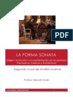 La Forma Sonata- Apuntes y Partituras..