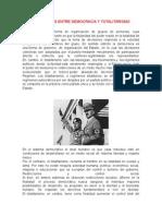 Diferencias Entre Democracia y Totalitarismo