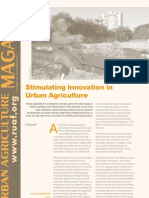 UA19 Stimulating Innovation in Urban Agriculture