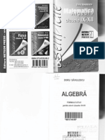 Formule Algebra (Clasa IX-XII)