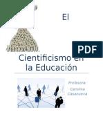 El Cientificismo en La Educación