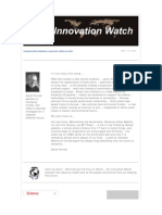 Innovation Watch Newsletter 9.07 - March 27, 2010