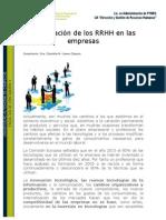 Planificación de Los RRHH en Las Empresas