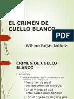 Crimen de Cuello Blanco Wilson Rojas Nuñez