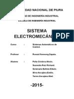 SISTEMAS ELECTROMECANICOS
