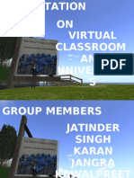 Virtual Classroom and Virtual Universities.