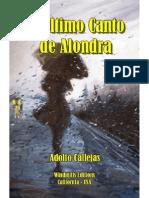 El Ultimo Canto de Alondra - Adolfo Callejas