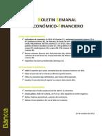 Boletin Economico Financiero 23 Octubre 2015