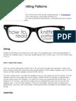 How to Read Knitting Patterns _ AllFreeKnitting