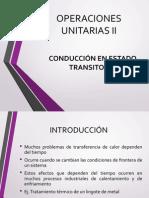 transferencia de calor(conducción en estado transitorio)