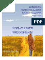Humanismo en Psi Educacional