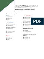 3.Calculo de Las Coordenadas XYZ ECEF en Forma Manual en Datum PSAD56