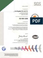 Certificado ISO 2014 Nuevasjfafjlhfaflaso