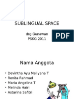 Sublingual Space