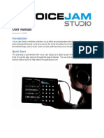 Voice Jam Studio User Manual v1.0 English