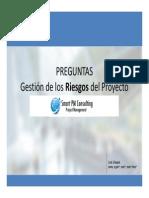 Gestion de Los Riesgos Del Proyecto-Preguntas