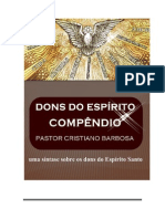 Dons Do Espírito- Compêndio - Pr; Cristiano Barbosa_ PDF.