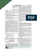 ley modificatoria 2010