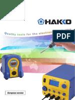 Catalogo HAKKO 2014