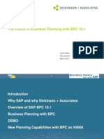 The Future of Business Planning With BPC 10.1
