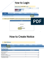 How to Create and Post Bid Notice