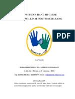 Kepatuhan Hand Hygiene Di Rsu William Booth Semarang