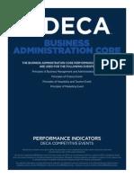 principles performance indicators