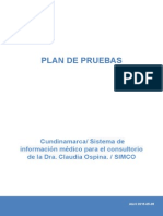 Plan de Pruebas SIMCO