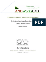 LANDWorksCAD v6 Getting Started Tutorial
