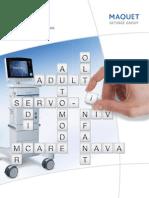 Brochure Sistema de Ventilacion Mecanica MAQUET SERVO - I