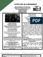 Boletin Del Domingo de Pasion