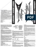 Jackson OwnersManual&Warranty