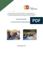 Guía Metodológica Para Tutores Nacionales - Norma Técnica