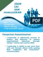 Supervisor Kepemimpinan( Makalah Pak Yadi)