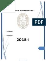 Sexto Informe de Medidas-2015 i