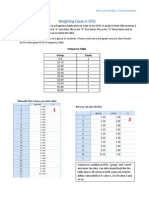 Weighting Cases in SPSS