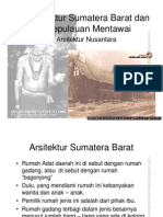 Arsitektur Sumatera Barat dan Kepulauan Mentawai - Presentasi.pdf
