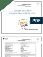 JERARQUIZACIÓN DE LOS PROBLEMAS