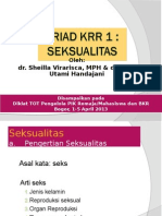 TRIAD KRR (Seksualitas)