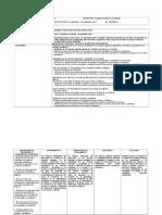 Planeación  Bloque IV Geografía de México y del Mundo