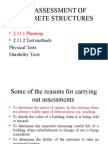 2.11 Assessment of Structures