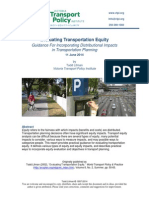 2014 Litman Evaluating Transportation Equity