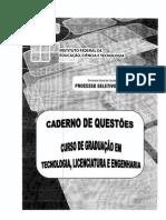 IFAM_-_Caderno_de_Questoes_2012