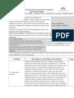 direct instruction lesson-visualizing