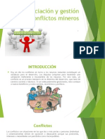 Negociación y Gestión de Conflictos Mineros