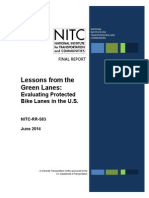 2014 NITC RR 583 Lessons From the Green Lanes Evaluating Protected Bike Lanes in the U.S.